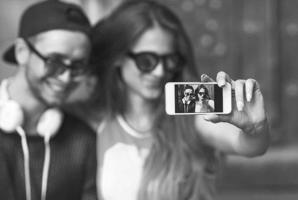 selfie experiential app