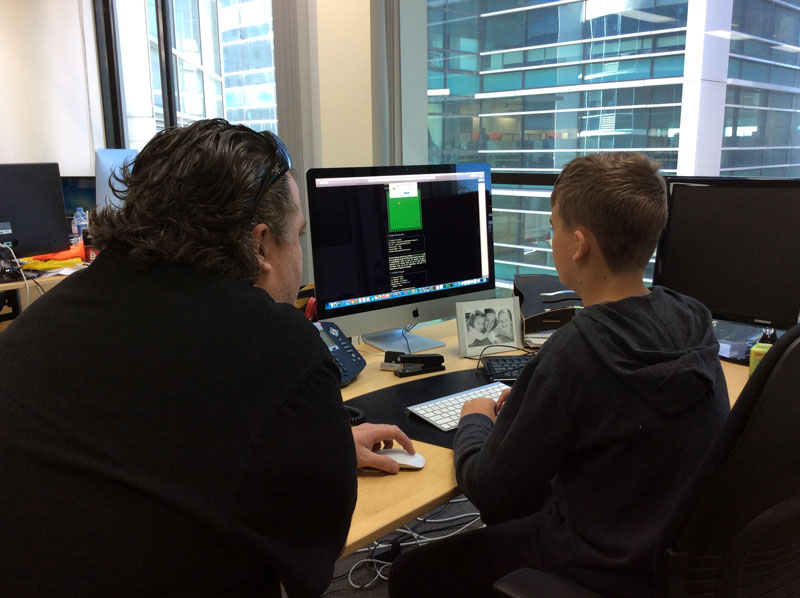 conn3cted teaching kids to code