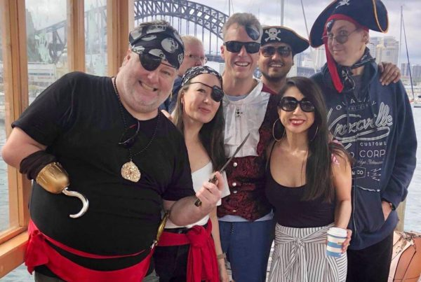 pirate themed christmas party