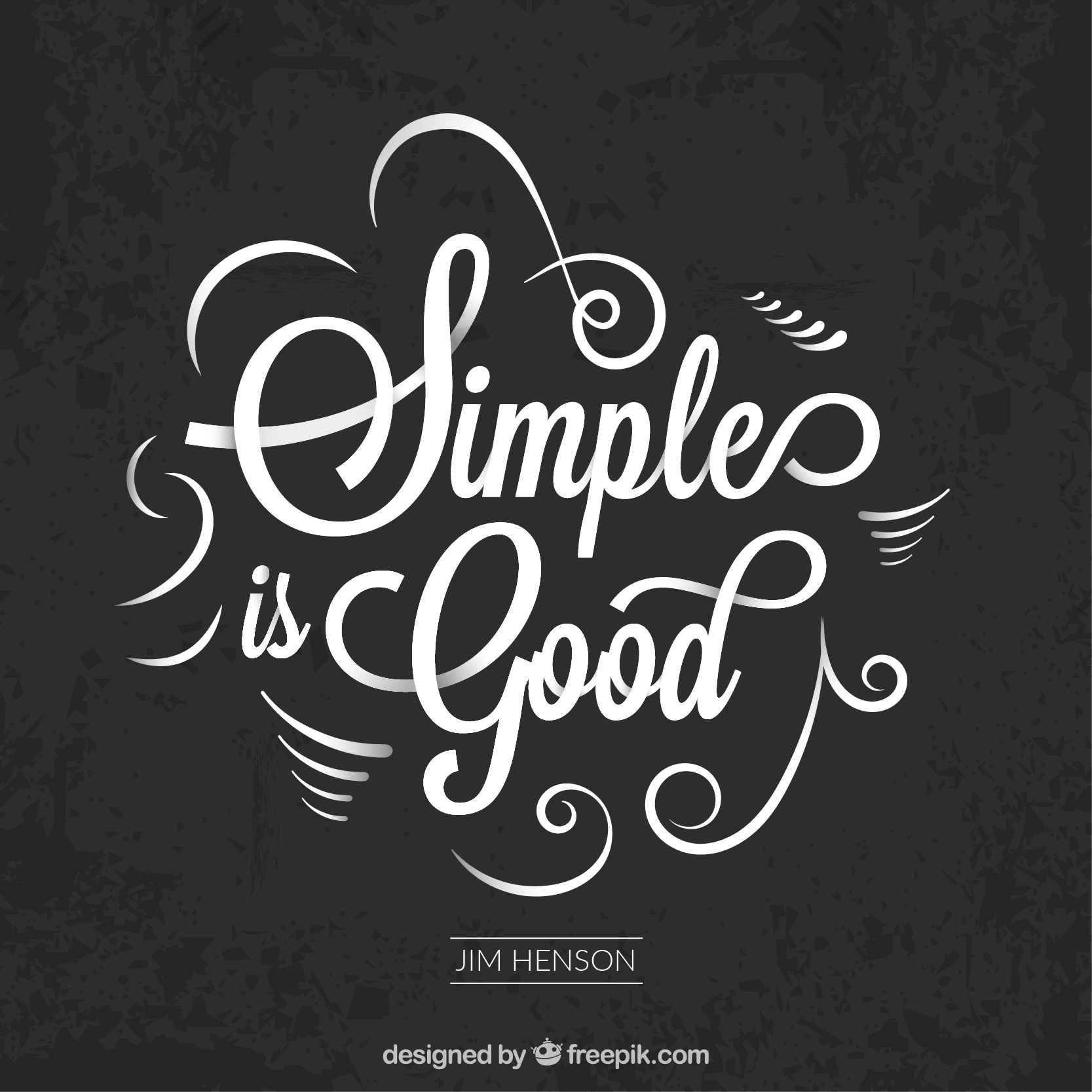 Simple is good
