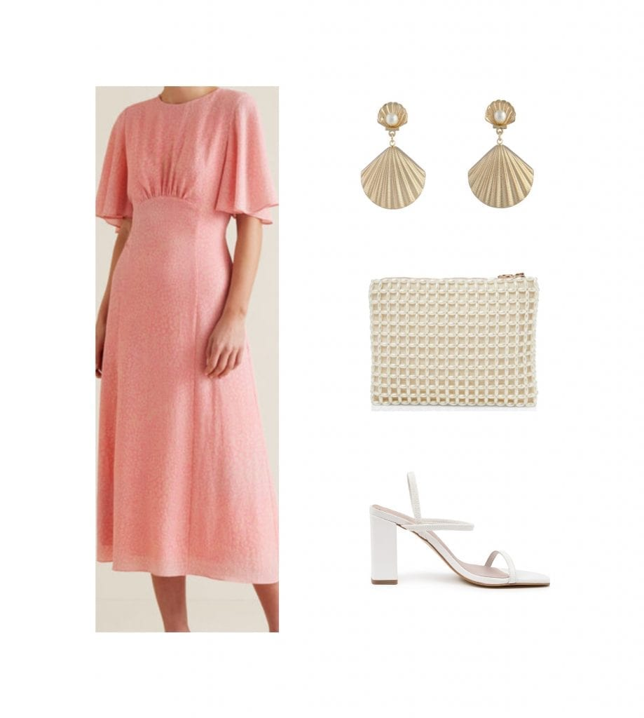 a wedding guest outfit that doesn't show too much skin