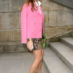 Olivia Palermo wearing Leopard Print