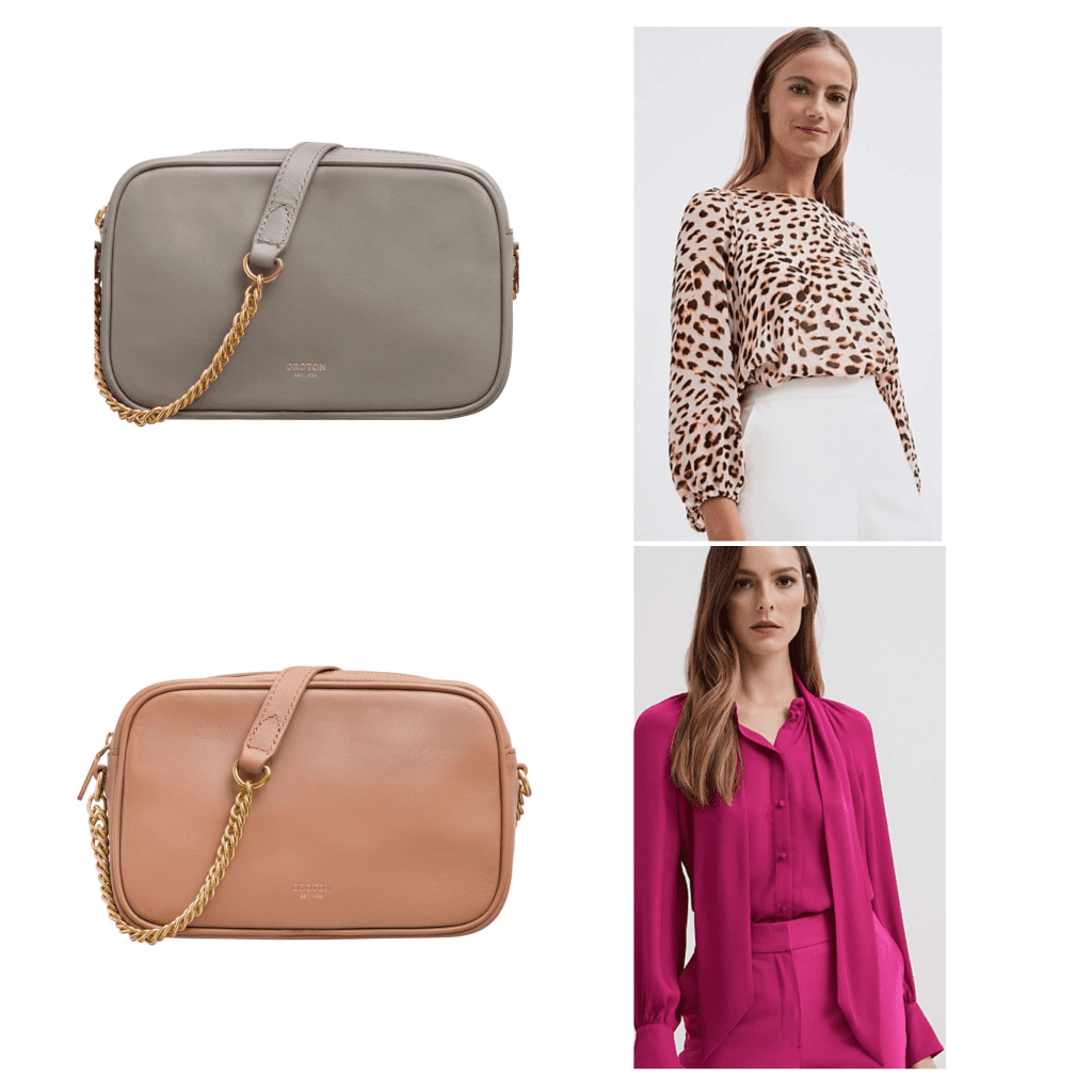 oroton and witchery bag on sale