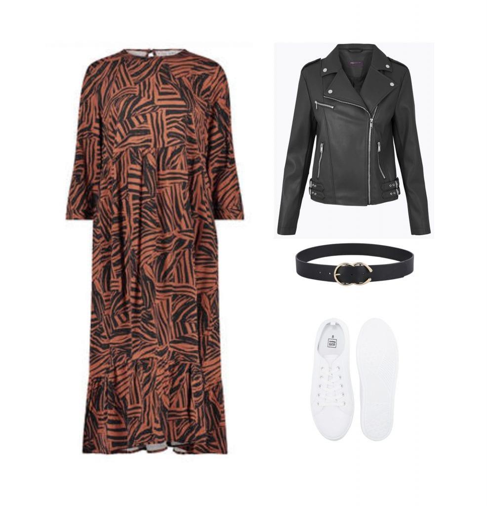 Kmart animal print dress