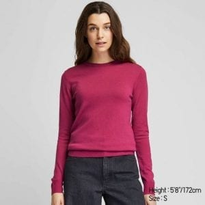 uniqlo knit top