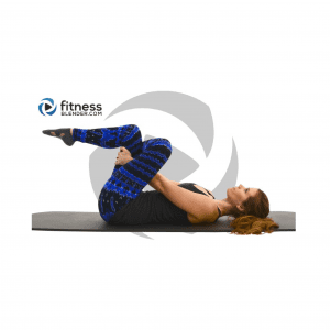 Fitness Blender yoga pose