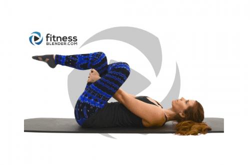 Fitness Blender yoga pose