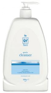 QV face cleanser
