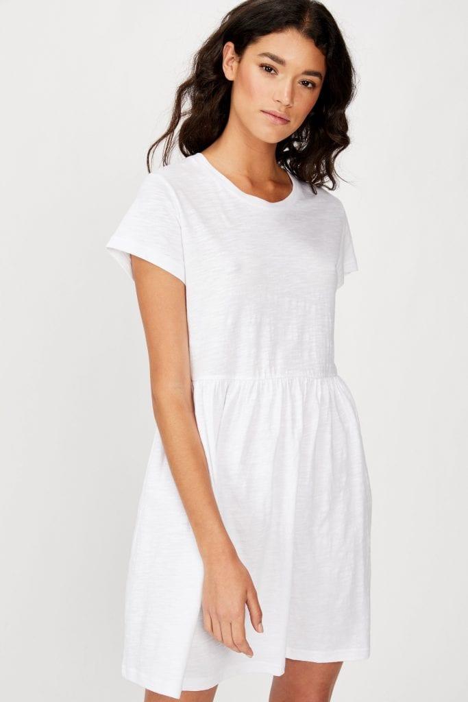Tina Babydoll Tshirt Dress cotton