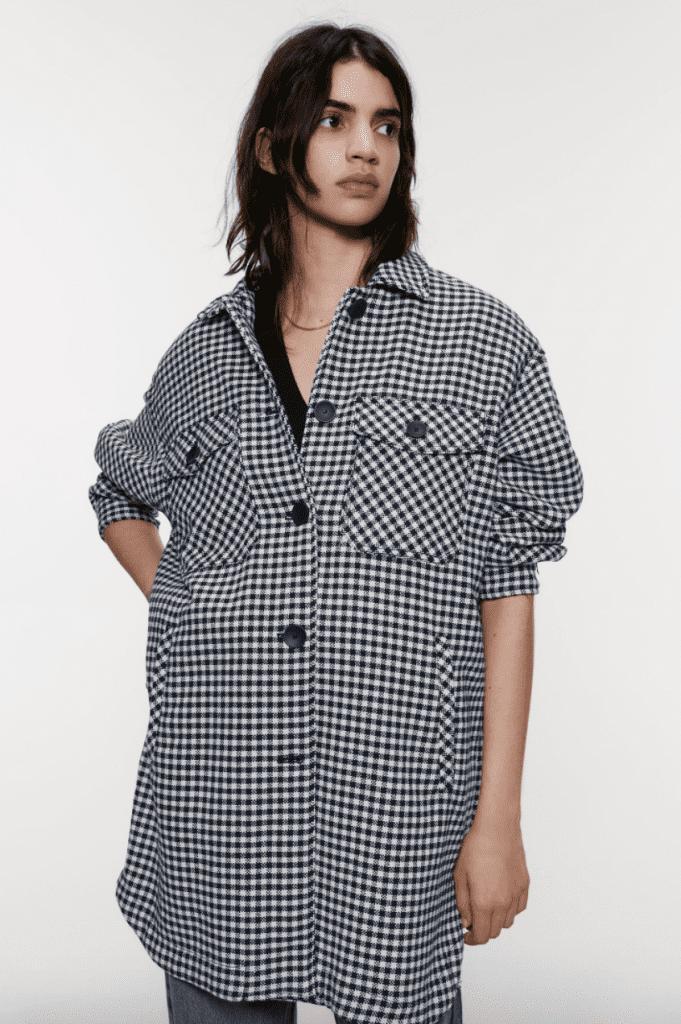Zara over sized shirt