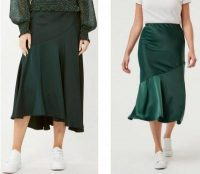 decjuba and kmart skirt comparison