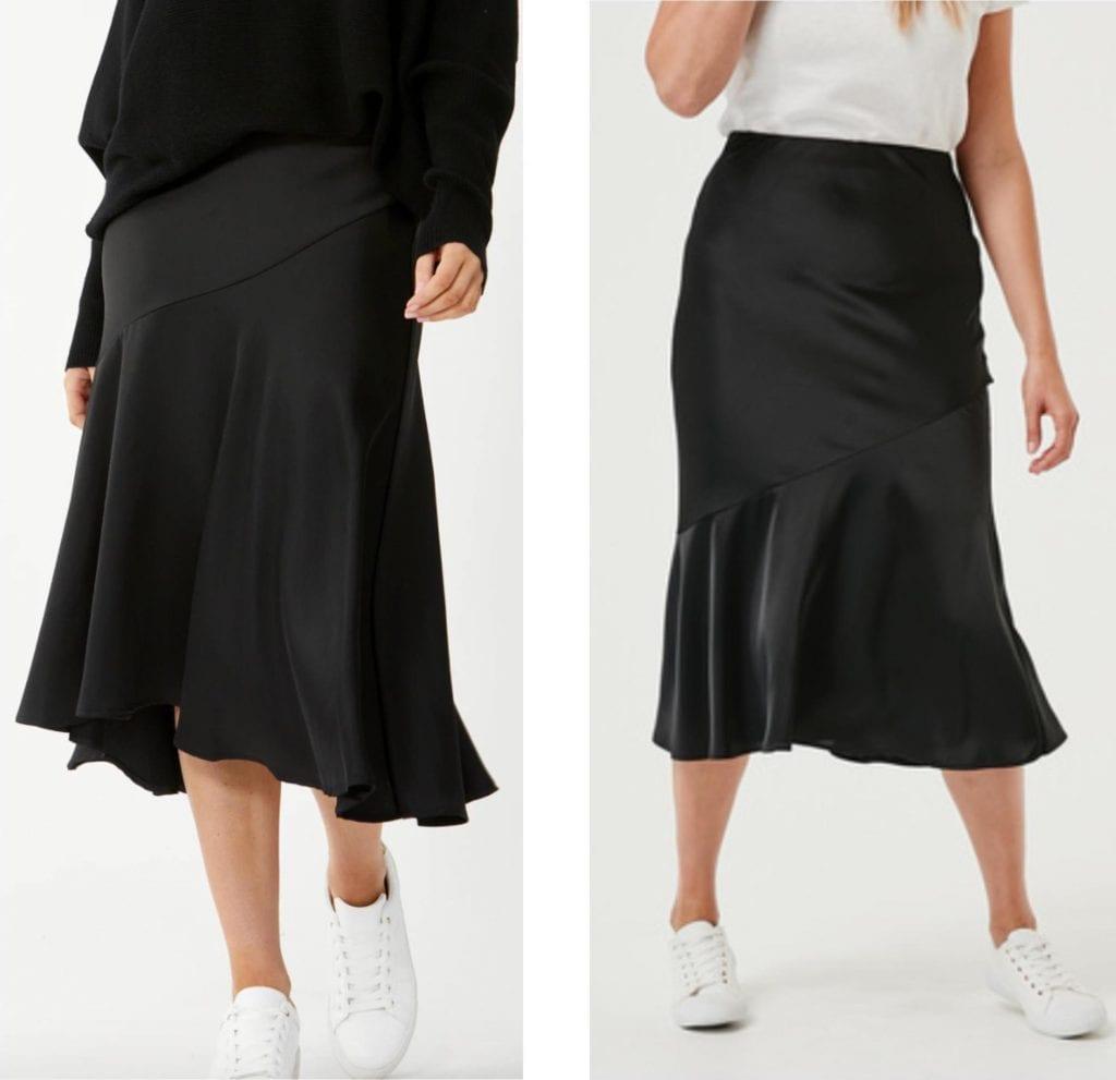decjuba and kmart skirt