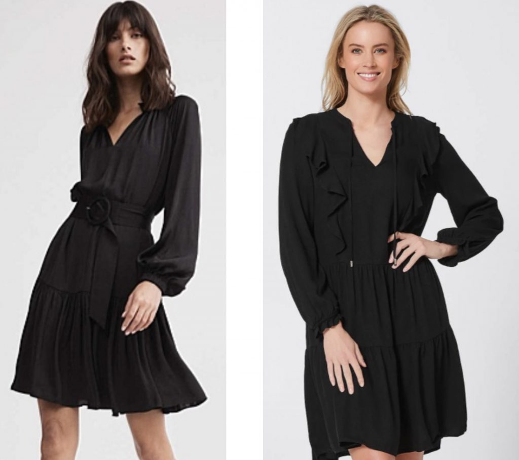 Witchery Dress and Target Dress
