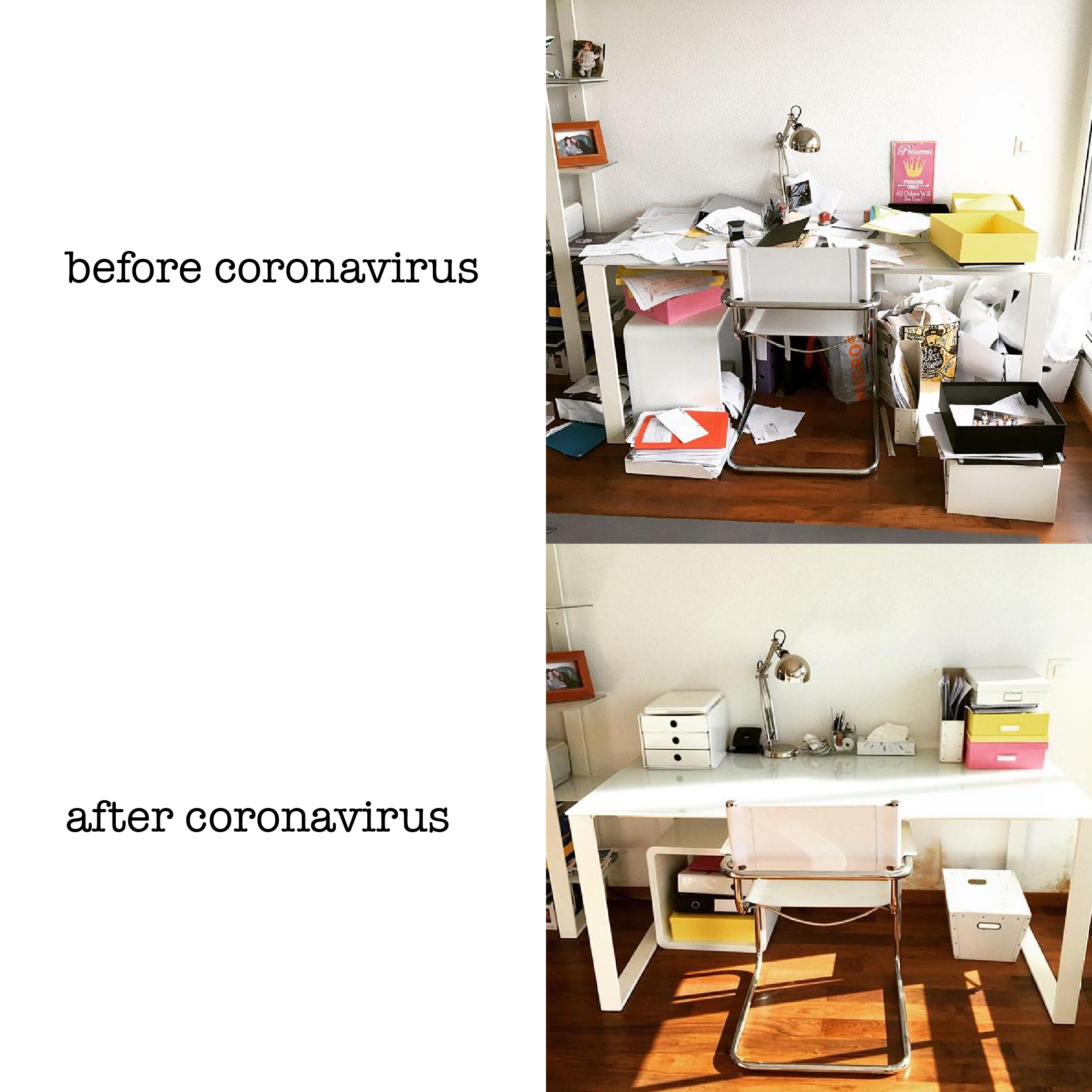 spring clean your workspace